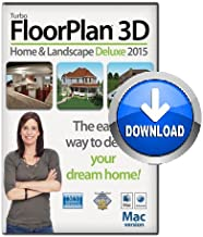 TurboFloorPlan 3D Home & Landscape Deluxe 2017 DVD Disc