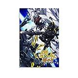 Gundam Robot Mecha Space Leinwand-Kunst-Poster und