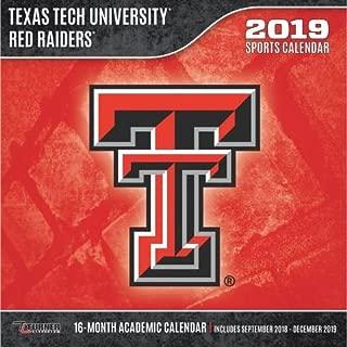 Texas Tech Red Raiders 2019 Calendar