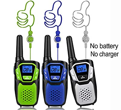 Topsung M880 Walkie Talkies, Two Way Radios for Outdoor Adventures 22 Channels 3 Miles by Topsung