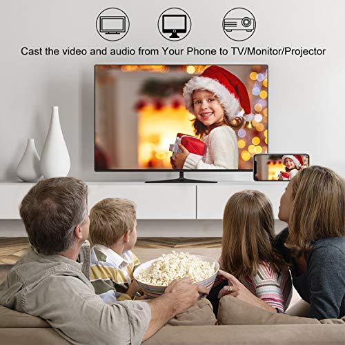 Yehua Wireless WiFi Display Dongle HDMI 1080P WiFi Display Empfänger Unterstützung Miracast Airplay DLNA für Android / Smartphone / PC / TV / Monitor / Projektor