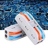 Conductor de cableado compacto de bloque de terminales PCT-2-2 para conexión de...