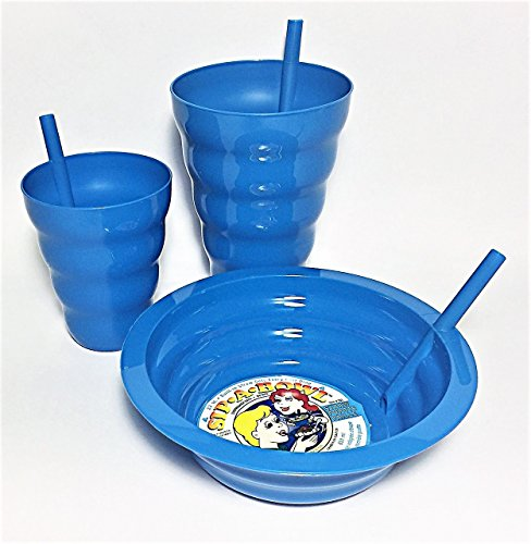 SIP A BOWL AND CUP BUNDLE SET. Includes 1 - 22 oz. bowl 1 - 22 oz.cup and 1 - 10 oz. cup.