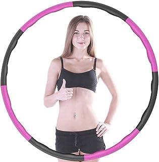 Hula Hoop för vuxna och barn - för viktminskning - 6-8 stycken - avtagbar - för alla hemmagym