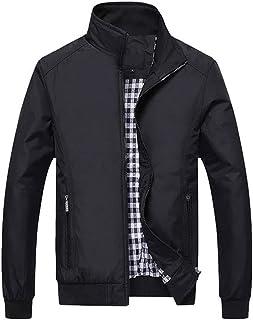 High Men's Jackets Men Casual Jacket Solid Coats Regular
