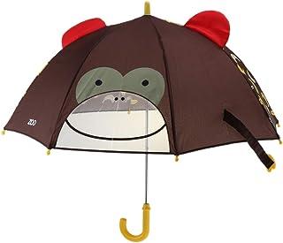 Prettyia Cartoon Printed Umbrellas Kids Children's Rain Umbrella Folding Umbrellas