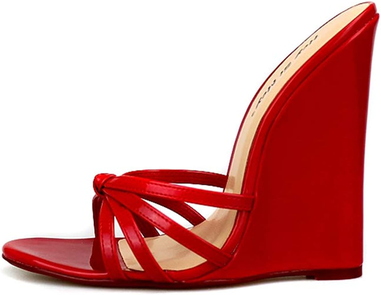 Zarbrina Womens Wedge High Heel Sandals Sexy Evening Party Summer Beach Extreme Height Fashion Super Designer Wears