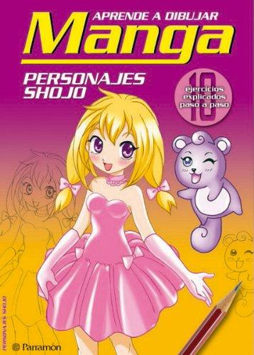 Aprende a Dibujar Manga: Personajes Shojo