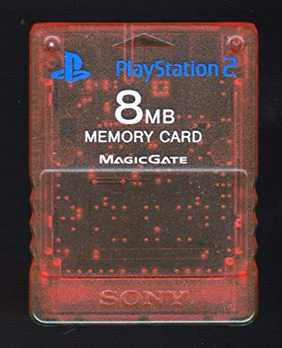 Sony PS2 Memory Card - Red - 8MB