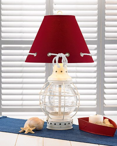 Nautical Glass Lamp