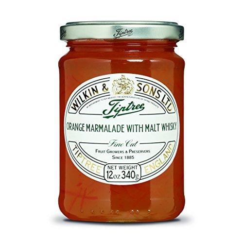 Tiptree Orangenmarmelade mit Malt Whisky Fine Cut (340g) - Packung mit 2