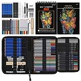 Prina 76 Pack Drawing Set Sketching Kit, Pro...