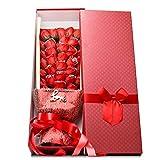 BaoYPP Ewiger Bouquet Kunstblumen Seifenblütenblätter Valentinstagsgeschenk Seifenblumengeschenk...