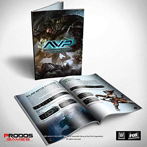 Prodos Games Alien vs Predator Tabletop Game Rulebook *English Version Giochi