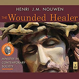 The Wounded Healer audiobook cover art