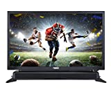 NAXA Electronics NTD-2460 24-inch 720p HD Class LED TV with Built-in Sound Bar &...