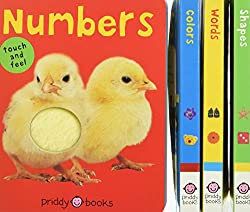 A gift set of 4 baby board books.