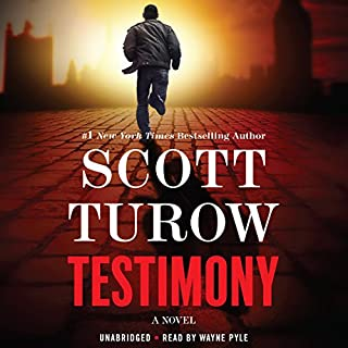 Testimony audiobook cover art