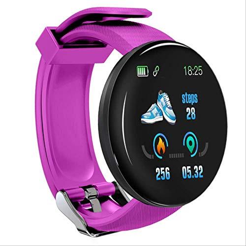 Bluetooth Smart Watch Uomo Pressione Sanguigna Round Smartwatch Donna Orologio Impermeabile Sport Tracker Whatsapp Per Android Ios