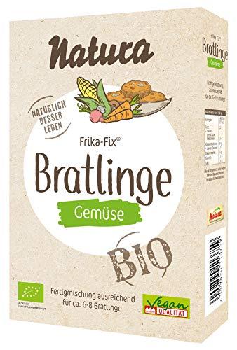 NATURA Frika Fix Bio Gemüse-Bratlinge, 150 g, 375