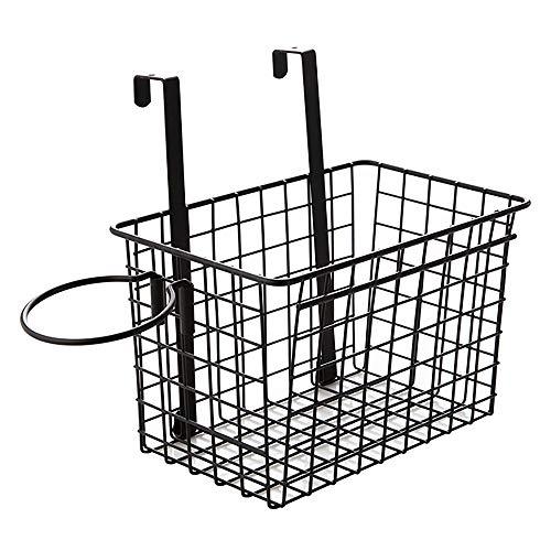 TOMYEER Soporte para secador de pelo, cesta de almacenamient