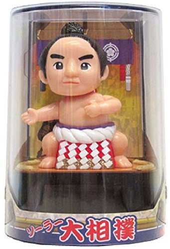 Sumo - Figurine Solaire Noire!!/POUPEE.