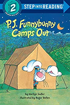 P. J. Funnybunny Camps Out (Step into Reading) by [Marilyn Sadler, Roger Bollen]