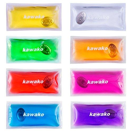 Scaldamani set da pezzi Multicolor-Rettangolo Per Bambini scaldamani heizpad Firebag