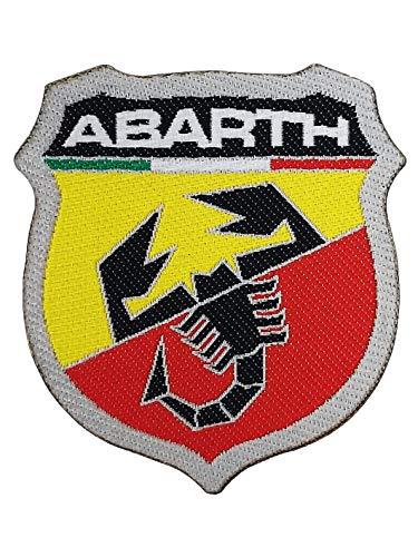 Abarth 21582/pegatinas prefustellati Escorpio Negro 240/mm