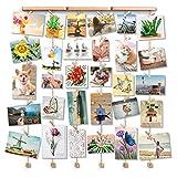 Love-KANKEI SHMILY Cornici Foto Cornice Portafoto con Clip Cornice Multipla per Foto da Parete Wall Decor 30 Foto