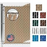 Wave Slat (9 Colors) Single Wall Bottom Locking...