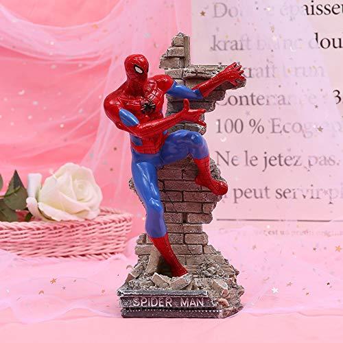 Dhl Vengadores Animado Decoración Iron Man Capitán América Carácter 15x9.5x33cm muñeca de...