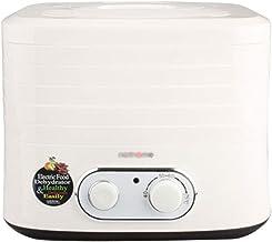 Máquina de conservación de alimentos para el hogar Deshidratador de alimentos, control de temperatura manual Silencio Plato de plástico de 5 capas Deshidratador de alimentos deshidratado de alimentos