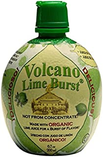 Dream Foods International Volcano Lime Burst, 6.7-Ounce Containers (Pack of 12)