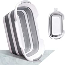 Collapsible Laundry Basket - Foldable Plastic Laundry Hamper - Pop Up Storage Container- Space Saving Clothes Basket-
