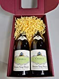 Albert Bichot Chablis Domaine Long-Depaquit 2018 Fine French White Wine Gift set of TWO BOTTLES