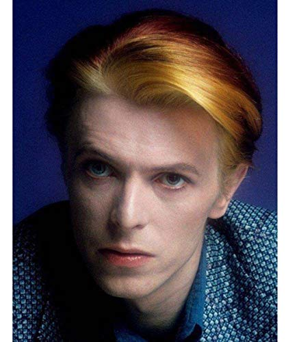 Kit de Peinture En Diamant 5D Point de Croix Diamant Broderie Diamant David Bowie Diy Dessin Peinture Par Numéros Idéal Pour Décorer11.8x15.8inch(30x40cm)