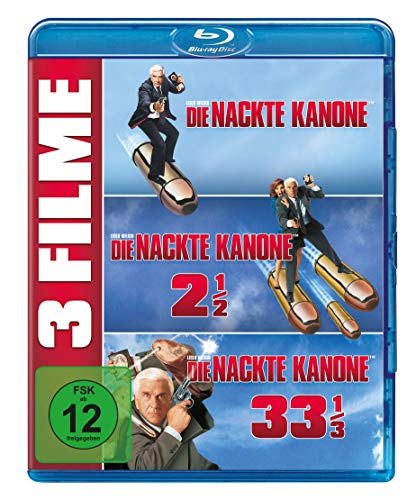 Die nackte Kanone 1-3 (3 on 1) [Blu-ray]