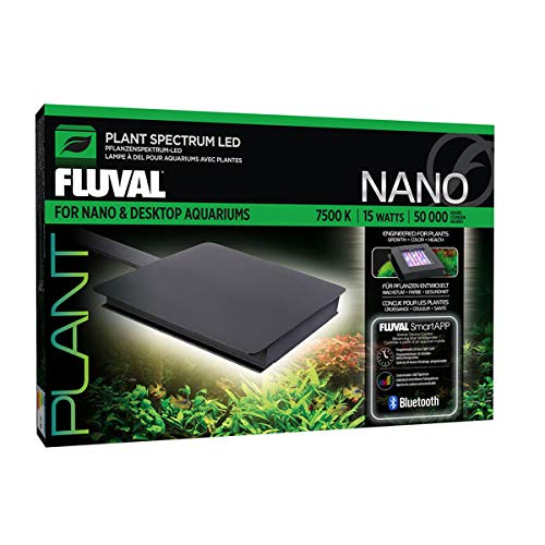 Hagen Fluval Plant Bluetooth Nano LED Aquarium Light (15 Watt)