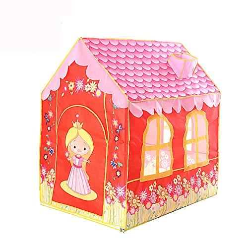 WZXX Indoor-Kinderzelt-Spielhaus, Lässt Sich Leicht Aufbauen Babykletter Zelt Leicht Zu Tragen Babyzelt Für Outdoor Geschenke Spielzeug Haus Und Garten Geschenk
