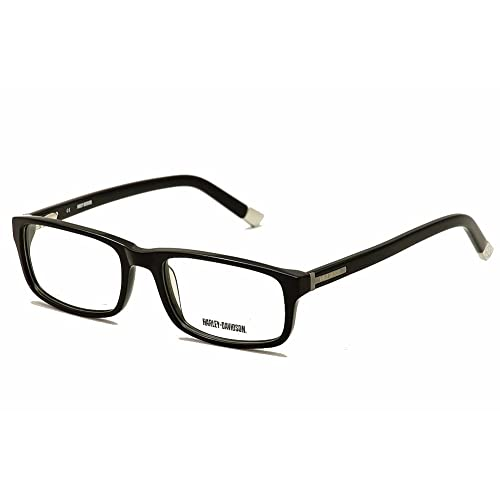 6998bf60de HARLEY DAVIDSON HD 458 Eyeglasses Black 57-20-150