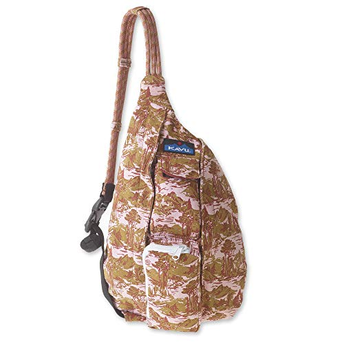 KAVU Mini Rope Bag Crossbody Shoulder Cotton Backpack