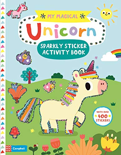 Campbell Books: My Magical Unicorn Sparkly Sticker Activity