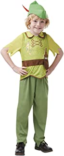 Rubie's Official Disney, Peter Pan Child Costume - Medium Age 5-6, Height 116 cm (641191M)