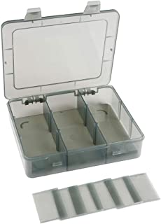 جعبه سازنده پلاستیکی 9 شبکه را با تقسیم کننده ، سازنده کاردستی ، جعبه سازنده جواهرات پلاستیکی ، ظرف کوچک قطعات ، سازمان دهنده جعبه با تقسیم کننده مهره ، گوشواره ، حلقه ، دکمه و غیره ارتقا دهید