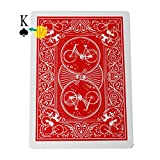 OUERMAMA Marked Stripper Deck Playing Cards with Instruction Poker Magic Tricks Props Close Up Street Illusion Mentalism Gimmick