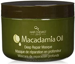 Hair Chemist Macadamia Oil Deep Repair Masque Net Wt. 8 oz