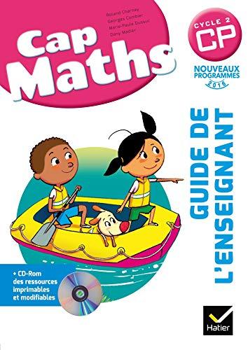 Cap Maths CP éd. 2016 - Guide de l'enseignant + CD Rom