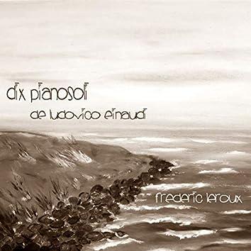 Dix pianosoli de Ludovico Einaudi