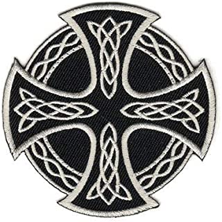 The Celtic Cross Round PATCH, by: